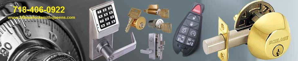 Commercial , Residential Auto Key Replacement the best 24 hr emergency Licensed Locksmith company in the Bayside Oakland gardens