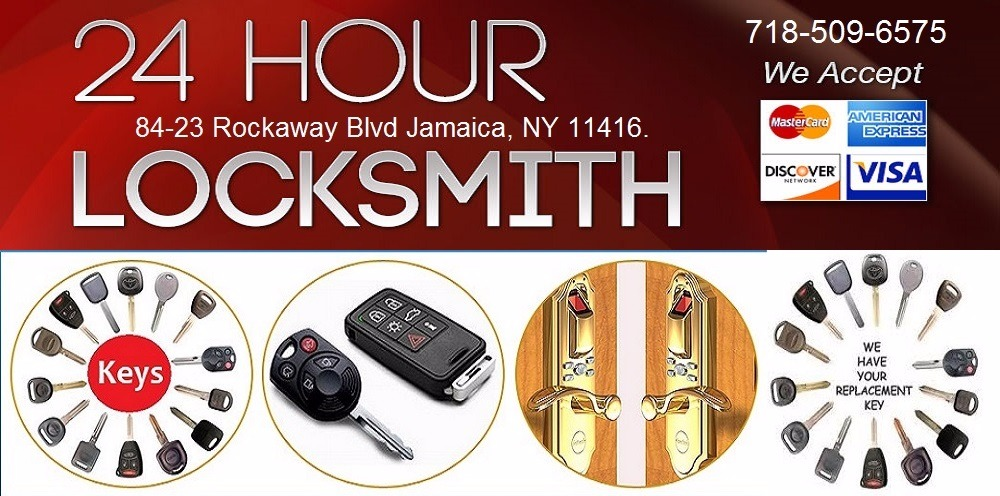 Queens NY 24 Hour Locksmith on Rockaway Blvd City 11416 NY
