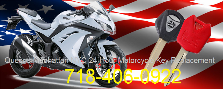Queens Manhattan NYC 24 Hour Motorcycle Key Replacement