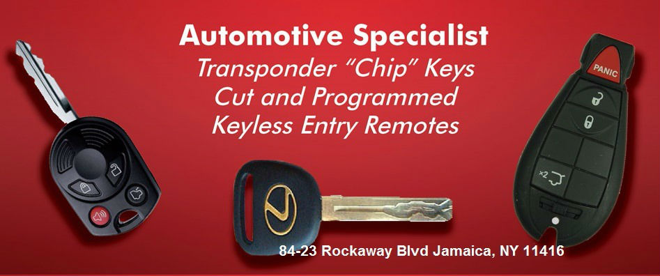 Queens NYC 24 hour emergency Licensed car key Locksmith