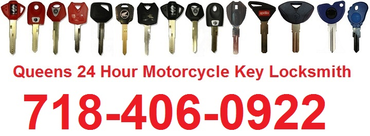 Queens NYC 24 Hour Motorcycle Key Locksmith
